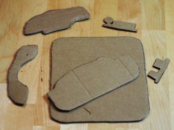 brumate cardboard activity