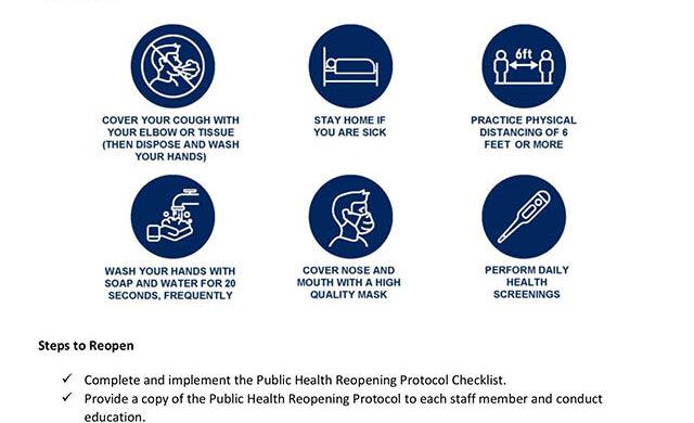 Sample image of Pasadena Health protocol