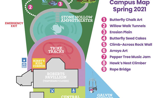 Sample image of campus map